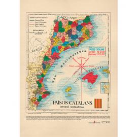 Mapa dels PAÏSOS CATALANS