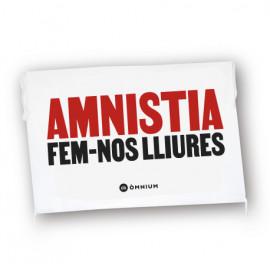 """Domàs """"Amnistia, fem-nos lliures"""""""
