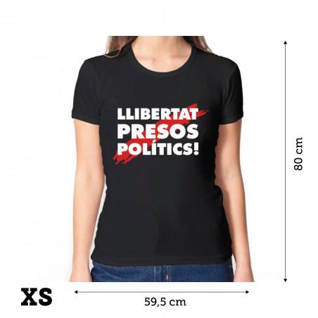 """Samarreta """"Llibertat Presos polítics"""" - DONA"""