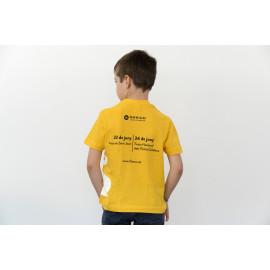 Samarreta groga nens (unisex)