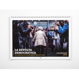 Calendari 2019: 'La Revolta Democràtica'