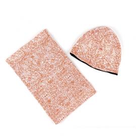 Conjunt de tapacoll i casquet polar reversibles